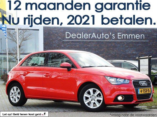 Hoofdafbeelding Audi A1 Sportback 1.6 TDI ECC LM VELGEN CRUISE CD CV+AB EL RAMEN