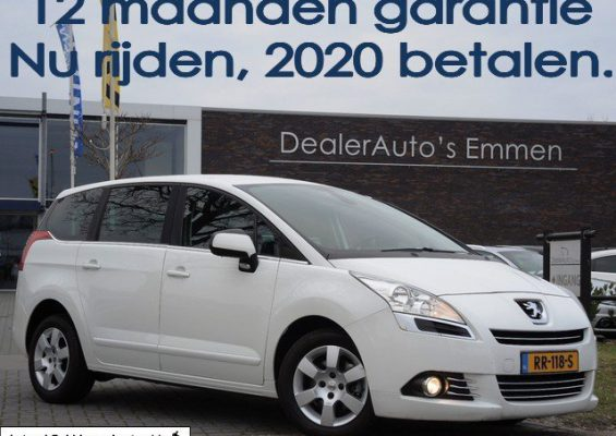 Hoofdafbeelding Peugeot 5008 2.0 HDIF 150pk ECC/NAVIGATIE/LM VELGEN/CRUISE/PDC/CD/CV