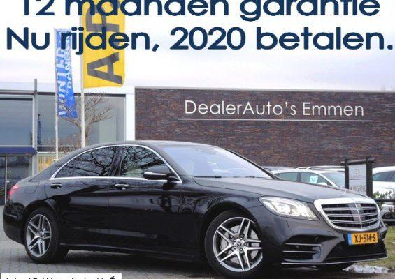 Hoofdafbeelding Mercedes-Benz S-Klasse 350d LANG AMG PAKKET/CHAUF.PACK/PORCELAIN BEKLEDING