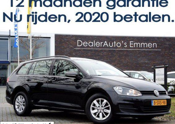 Hoofdafbeelding Volkswagen Golf Variant 1.6 TDI ECC/LM VELGEN/NAVIGATIE/CRUISE/TREKHAAK