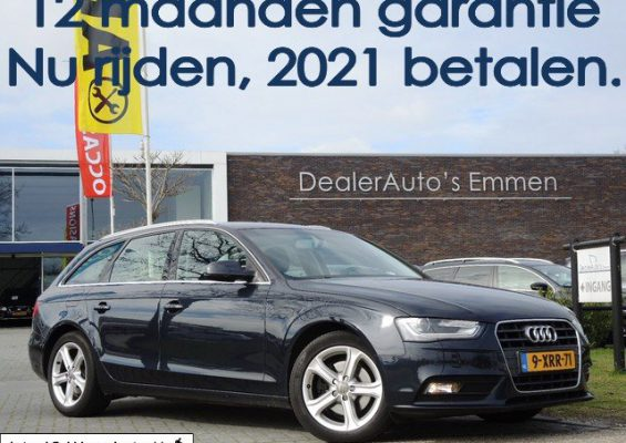 Hoofdafbeelding Audi A4 Avant 2.0 TDI 150pk ECC NAVIGATIE LM VELGEN XENON CRUISE