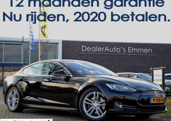 Hoofdafbeelding Tesla Model S 85 PANODAK/H.LEDER/NAVIGATIE EXCL.BTW!!!!!!!