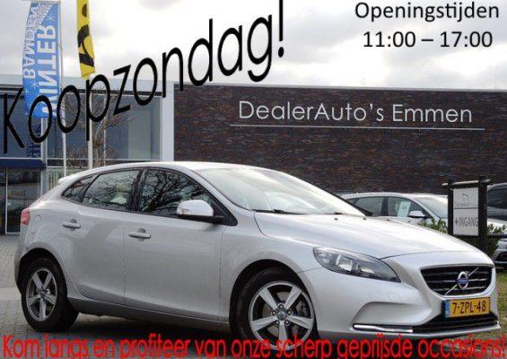 Hoofdafbeelding Volvo V40 1.6 D2 AUT. LM VELGEN/NAVIGATIE/CRUISE/CD/CV+AB EL.RAMEN