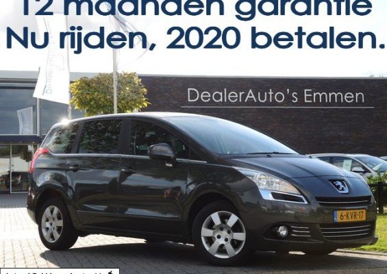 Hoofdafbeelding Peugeot 5008 1.6 E-HDI BLUE 7-Pers/ECC/LM VELGEN/NAVIGATIE/CRUISE/CD/CV+AB